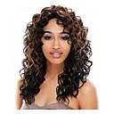 baratos Perucas Sintéticas sem Touca-cabelo perucas sintéticas moda mix-cor longa da mulher cacheados