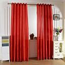 povoljno Zidni satovi-Zavjese Zavjese Jedna ploča W99cm×L200cm Crvena / Living Room