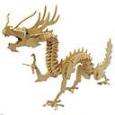 ราคาถูก จิ๊กซอว์3D-3D-puslespill ปริศนาไม้ แบบไม้ มังกร ไม้ เด็กผู้ชาย เด็กผู้หญิง Toy ของขวัญ