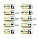 baratos Lâmpadas LED Inteligentes-Brelong 10 pcs g4 dimmable 2.5 w 24led smd2835 luz do milho branco / branco quente / ac12v / dc12v / ac220v