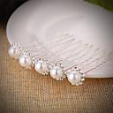 Χαμηλού Κόστους Μοδάτες Καρφίτσες-Μαργαριτάρι / Κρύσταλλο Καλύμματα Κεφαλής / Εργαλείο τρίχας / Hair Stick με Φλοράλ 1pc Γάμου / Ειδική Περίσταση Headpiece / Τσιμπιδάκι