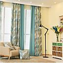 billiga Fönstergardiner-skräddarsydda blackout mörkgardiner draperier två paneler / sovrum