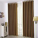 billiga Gardiner och draperier-färdiga rumsmörkningsgardiner draperar två paneler för sovrum