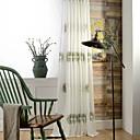 billiga Genomskinliga gardiner-skräddarsydda ren gardiner nyanser två paneler / broderi / vardagsrum