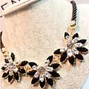 זול סט תכשיטים-בגדי ריקוד נשים Collar נשים שרף פלסטי סגסוגת שרשראות תכשיטים עבור Party יומי קזו'אל
