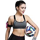 Χαμηλού Κόστους Εσωτερική Άσκηση-Γυναικεία Bluză de Alergat Αθλητικό σουτιέν Γιλέκο ποδηλασίας Γιόγκα Fitness Γυμναστήριο προπόνηση Αναπνέει Anti Shark Συμπίεση Suport Medium Μαύρο Ροδοκόκκινο Βυσσινί Γκρίζο Μονόχρωμο / Ελαστικό
