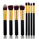 ราคาถูก ชุดแปรงแต่งหน้า-มืออาชีพ แปรงแต่งหน้า ชุดแปรง 8pcs วิกผมปลอม / แปรงจากเส้นใยสังเคราะห์ แปลงเครื่องสำอาง สำหรับ Makeup Brush Set