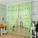 Χαμηλού Κόστους Διάφανες Κουρτίνες-Χώρα Αποχρώσεις διάφανες κουρτίνες Ένα Πάνελ Σαλόνι   Curtains / Ζακάρ