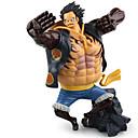 billiga Action- och leksaksfigurer-Anime Actionfigurer Inspirerad av One Piece Monkey D. Luffy pvc 17.5 cm CM Modell Leksaker Dockleksak