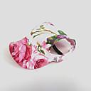 povoljno TWS SPrava bežična slušalica-Mačka Pas Hoodies Marame i kape Sport Hat Odjeća za psa Pink Kostim Najlon Cvijet Vjenčanje S M