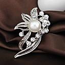 povoljno Značke i broševi-Žene Broševi dame Moda Umjetno drago kamenje Broš Jewelry Pink Za Vjenčanje Party Special Occasion Rođendan Dar Dnevno