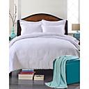 זול שמיכות וכיסויי מיטה-נוֹחַ 1 יחידה שמיכה 3 יחידות (1 כיסוי שמיכה, 2 כיסוי כרית), 100% כותנה רגילה חוט צבוע פרחוני