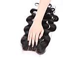 Χαμηλού Κόστους Εξτένσιος μαλλιών με ανταύγιες-Κυματομορφή Σώματος Πλήρης Δαντέλα 3.5x4 Κλείσιμο 100% δεμένη στο χέρι Ελβετική δαντέλα Φυσικά μαλλιά Δωρεάν Μέρος Μεσαίο τμήμα 3 Μέρος