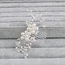 povoljno Naušnice-Biseri Kose za kosu s 1 Vjenčanje / Special Occasion / Kauzalni Glava