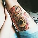billiga ärm tatuering-1 pcs Tatueringsklistermärken tillfälliga tatueringar Vattentät Body art händer / Brachium