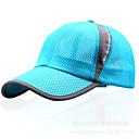 ราคาถูก หมวกวิ่ง ถุงเท้าและปอกแขน-หมวก สำหรับผู้ชาย สำหรับผู้หญิง ทุกเพศ ป้องกันแดด ระบายอากาศ Ultraviolet Resistant สำหรับ เบสบอล ตัวอักษรและจำนวน สแปนเด็กซ์ ตารางไขว้ ฤดูร้อน / ยืด
