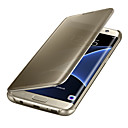 billige TWS Sann trådløse hodetelefoner-Etui Til Samsung Galaxy S8 Plus / S8 / S7 edge Autodvale / aktivasjon / Belegg / Speil Heldekkende etui Ensfarget PC / Gjennomsiktig