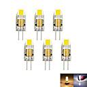 Χαμηλού Κόστους LED Bi-pin Λαμπτήρες-2W G4 LED Φώτα με 2 pin MR11 1 leds COB Διακοσμητικό Με ροοστάτη Θερμό Λευκό Ψυχρό Λευκό 100-150lm 3000-6000K DC 12 AC 12V