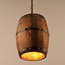 povoljno Modne narukvice-Privjesak Svjetla Downlight Slikano završi Wood / Bamboo Wood / Bamboo Mini Style 110-120V / 220-240V Bulb not included / FCC / E26 / E27