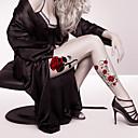 billiga ärm tatuering-2 pcs tillfälliga tatueringar Ansikte / Kropp / händer Papper Tatueringsklistermärken
