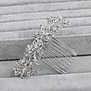 billiga Huvudsmycken till fest-Bergkristall Hair Combs med 1 Bröllop / Speciellt Tillfälle / Casual Hårbonad