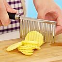 Χαμηλού Κόστους Ανοιχτές-1pc Εργαλεία κουζίνας Ανοξείδωτο Ατσάλι Πρωτότυπες Cutter & Slicer για λαχανικών