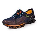 זול נעלי ספורט לגברים-בגדי ריקוד גברים טול אביב / סתיו נוחות נעלי אתלטיקה ריצה כחול כהה / כחול ים