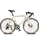 billiga Tupéer-Väg Cykel Cykelsport 14 Hastighet 26 tum / 700CC SHIMANO TX30 Dubbel skivbroms Vanlig Monocoque Vanlig Aluminiumlegering / #