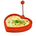 ราคาถูก เครื่องมือไข่-แหวนรูปไข่ซิลิโคนรูปหัวใจและเครื่องชงแพนเค้กไข่ดาวทอดแม่พิมพ์ทำอาหารแพนเค้ก (สีสุ่ม)