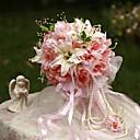 """povoljno Cvijeće za vjenčanje-Cvijeće za vjenčanje Buketi Vjenčanje / Zabava / večer Svila 13.78 """"(Approx.35cm)"""