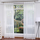 povoljno Prozorske zavjese-Moderna Sheer Zavjese Shades Dvije zavjese Trpezarija   Curtains / Living Room