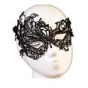 Χαμηλού Κόστους Μάσκες-Μάσκα Μάσκα μάσκας Μισή μάσκα Εμπνευσμένη από Απόκριες Μαύρο Κορδόνια Χριστούγεννα Halloween Απόκριες Ενηλίκων Γυναικεία