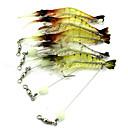 billige Vadere, Fiskeklær-1 pcs Sluk Reke Synkende Bass Ørret gjedde Agn Kasting Lokke Fiske Trolling- & Båtfiskeri Plast
