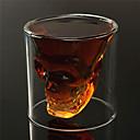 baratos Canecas e Copos-Artigos de Vidro Vidro, Vinho Acessórios Alta qualidade CriativoforBarware cm 0.062 kg 1pç