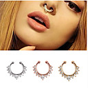 cheap Body Jewelry-Women's Body Jewelry Nose Ring / Nose Stud / Nose Piercing / Nose Piercing Silver / Golden / Rose Gold Bohemian Stainless Steel Costume Jewelry For Christmas Gifts / Party Summer