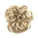 billiga Hästsvansar-Syntetiska peruker Chinjonger Lockigt Klassisk Klassisk Lockigt Frisyr i lager Peruk Korta Blond Syntetiskt hår Dam updo