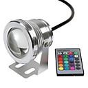 billige Flomlys-Undervannslys Vanntett / Fjernstyrt RGB 12 V LED perler