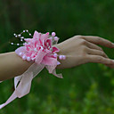 """ราคาถูก เครื่องประดับผมสำหรับงานปาร์ตี้-ดอกไม้สำหรับงานแต่งงาน ช่อดอกไม้ข้อมือ งานแต่งงาน งานปาร์ตี้ / งานราตรี ตูเล่ ซาติน 1.18""""(ประมาณ 3ซม.)"""