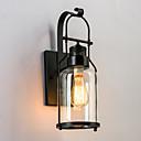 billige Vegglamper-CXYlight Rustikk / Hytte / Vintage / Retro Rød Vegglamper Metall Vegglampe 110-120V / 220-240V 60 W / E26 / E27
