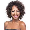 billiga Digitala multimetrar och oscilloskop-Syntetiska peruker Lockigt Lockigt Peruk Korta Brun Syntetiskt hår Dam Afro-amerikansk peruk Brun