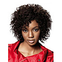 ราคาถูก วิกผมสังเคราะห์-วิกผมสังเคราะห์ แอฟริกา Kinky Curly หยิกหยักศก แอฟริกา ผมปลอม สีดำ สังเคราะห์ สำหรับผู้หญิง ดำ