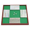 billiga Kortspel & Poker-Brädspel Mahjong Kortspel Kul Kortpapper Klassisk 1 pcs Bitar Leksaker Present