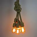 Χαμηλού Κόστους Πυράκτωσης-6-κεφάλι vintage βιομηχανική κάνναβης σχοινί κρεμαστό κόσμημα φωτιστικά σαλόνι τραπεζαρία καφέ μπαρ ένδυσης κατάστημα διακόσμηση φως