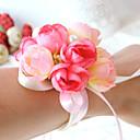 povoljno Cvijeće za vjenčanje-Cvijeće za vjenčanje Wrist Corsage / Jedinstven svadbeni dekor Special Occasion / Zabava / večer Perle / Saten / Pamuk 0-20cm