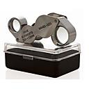 זול מיקרוסקופים ואנדוסקופים-זכוכית מגדלת / מיקרוסקופ תכשיטים / תיקון שעון Generic / חדות גבוהה HD / נשיאה ידנית / קיפול 10X  20X 18mm נורמלי מתכת