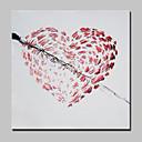Χαμηλού Κόστους Gadget Μπάνιου-Hang-ζωγραφισμένα ελαιογραφία Ζωγραφισμένα στο χέρι - Αφηρημένο Μοντέρνα Με Πλαίσιο