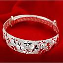 Χαμηλού Κόστους Μοδάτο Βραχιόλι-Γυναικεία Βραχιόλια κυρίες Ασιατικό Μοντέρνα Ιταλικά Ασήμι Στερλίνας Βραχιόλι Κοσμήματα Ασημί Για Χριστουγεννιάτικα δώρα