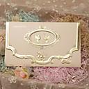 """povoljno Pozivnice za vjenčanje-Tri preklopa Vjenčanje Pozivnice 50 - Pozivnice Classic Style Pearl papira 7 1/5 """"x 5"""" (18,4 * 12.8cm)"""