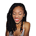 povoljno Vrhunske sintetičke perike s kapom-Kosa koja se plete Kutije pletenice Heklati Havana dreadlocks Dreadlocks / Faux Locs 100% kanekalon kose Kanekalon 12 korijena / pakiranja 24 korijena / pakiranja Sušilo za pletenice Dreadlock