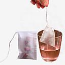 billiga Kaffe och te-hög kvalitet 100st / lot tepåsar sträng läka tätning filterpapper tepåse för ört lösa tepåsar ros blomma tepåsar